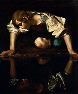 Caravaggio: Narcissus / Forrás: Wikipédia